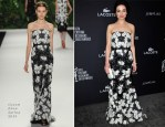 Crystal Reed In Naeem Khan - 16th Annual Costume Designers Guild Awards