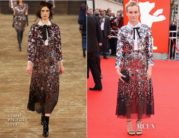 Diane Kruger In Chanel - 'The Galapagos Affair Satan Came to Eden' Berlin Film Festival Premiere