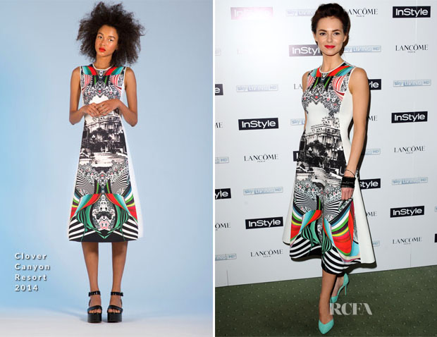 Kara Tointon In Clover Canyon - InStyle Best Of British Talent Pre-BAFTA Party