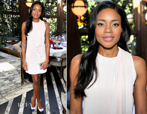 Naomie Harris In Giambattista Valli - Maybelline New York and The Daily Front Row Fashion & Hollywood Luncheon