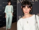 Rebecca Dayan In Vionnet - BVLGARI Presents 'Decades Of Glamour'