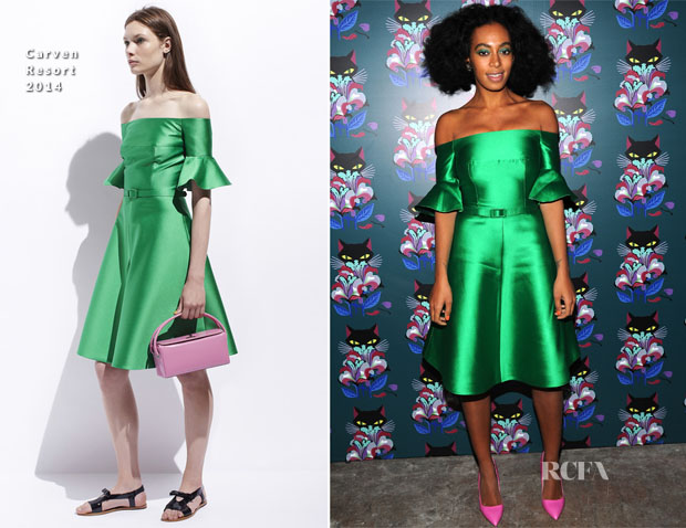 Solange Knowles In Carven - Miu Miu Women's Tales 7th Edition -'Spark & Light' Screening
