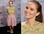 Zoey Deutch In Christian Dior - Vanity Fair and FIAT Celebration Of 'Young Hollywood'