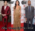 Best Dressed Of The Week - Naomie Harris In Valentino, Adrien Brody In Dolce & Gabbana and Michael B. Jordan In Dior Homme