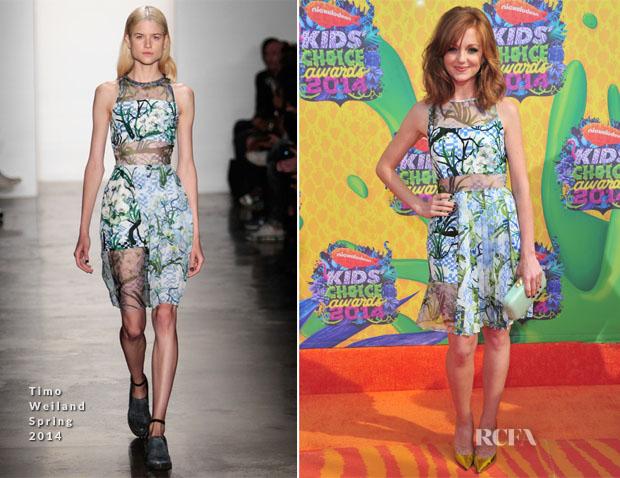 Jayma Mays In Timo Weiland - Nickelodeon Kids' Choice Awards 2014