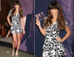 Lea Michele In Suno - 'Louder' Album Signing At Barnes & Noble