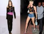 Miley Cyrus In Maison Martin Margiela  -  Cameo Nightclub