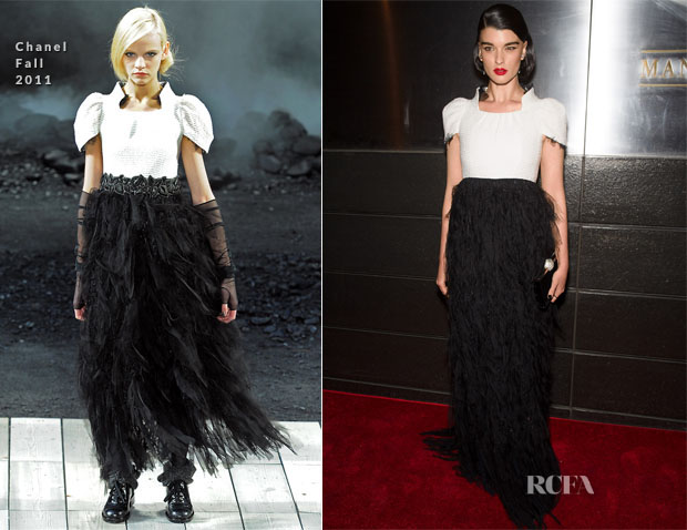 Crystal Renn In Chanel - New Yorkers For Children's 11th Anniversary A Fool's Fete