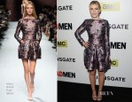 Kiernan Shipka In Nina Ricci - 'Mad Men' Season 7 LA Premiere
