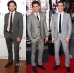 Menwear Red Carpet Roundup