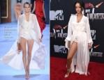 Rihanna In Ulyana Sergeenko Couture - MTV Movie Awards 2014