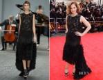 Ruth Wilson In Erdem - Laurence Olivier Awards 2014