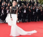 Zhang Ziyi In Stéphane Rolland Couture - 'Grace of Monaco' Cannes Film Festival Premiere & Opening Ceremony
