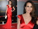 Andie MacDowell In Johanna Johnson - 39th Annual Gracie Awards