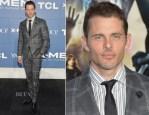 James Marsden In Kent & Curwen by Simon Spurr - 'X-Men: Days Of Future Past' World Premiere