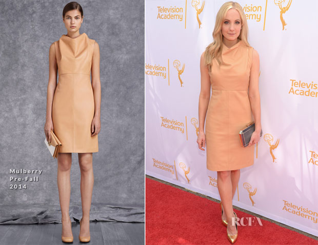 Joanne Froggatt In Mulberry - An Afternoon with 'Downton Abbey'