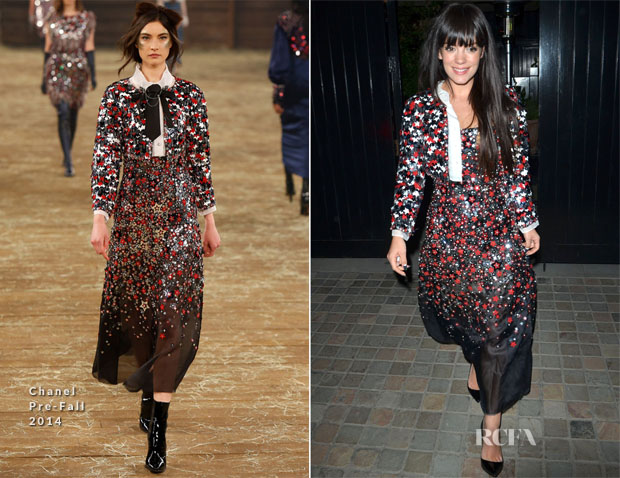 Lily Allen In Chanel - Chiltern Firehouse