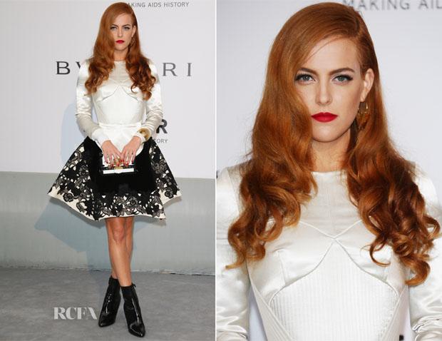 Riley Keough In Louis Vuitton - amfAR Cinema Against Aids Gala