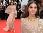 Sonam Kapoor In Anamika Khanna - 'Foxcatcher' Cannes Film Festival Premiere