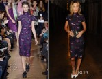 Abbey Clancy In Giles - London Collections: Jimmy Choo Men Spring 2015 Show