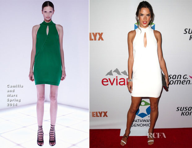 Alessandra Ambrosio In Camilla and Marc - Pathway To The Cures For Breast Cancer Fundraiser