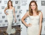Allison Williams In Dolce & Gabbana - Museum Of The Moving Image Honors Richard Plepler & Charlie Rose