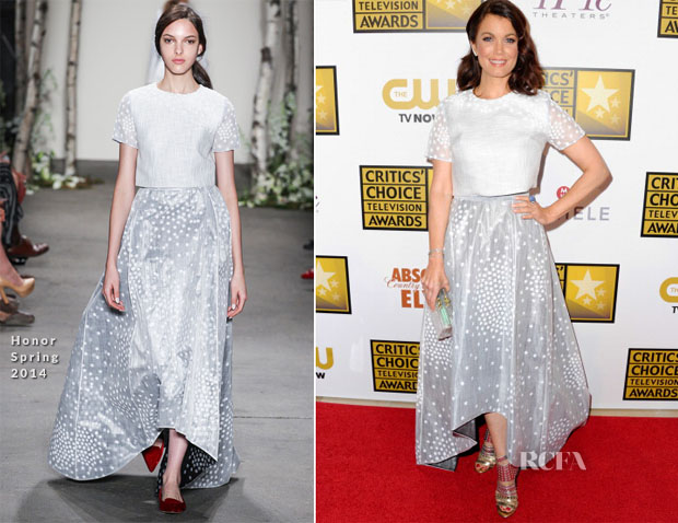 Bellamy Young In Honor - 2014 Critics' Choice Television Awards