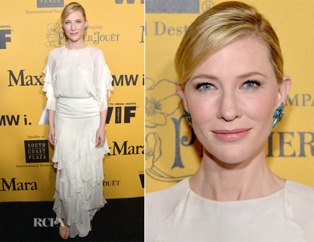 Cate Blanchett In Chloé - Women In Film 2014 Crystal + Lucy Awards