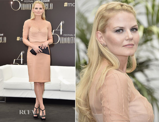 Jennifer Morrison In Jasper Conran -  'Once Upon A Time' Monte Carlo Television Festival Photocall