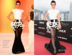 Li Bingbing In Stéphane Rolland Couture - 'Transformers: Age of Extinction' World Premiere