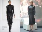 Nicole Kidman In Salvatore Ferragamo - 'Grace of Monaco' Shanghai Film Festival Press Conference