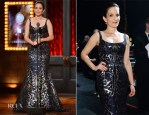 Tina Fey In Oscar de la Renta - 2014 Tony Awards