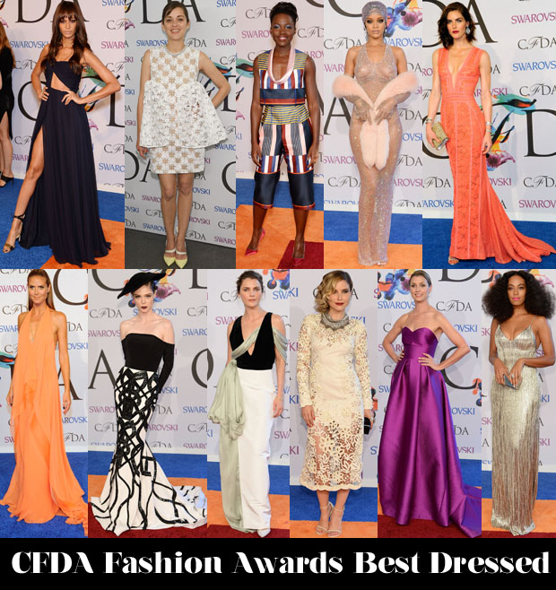 Who Was Your Best Dressed At The CFDA Fashion Awards