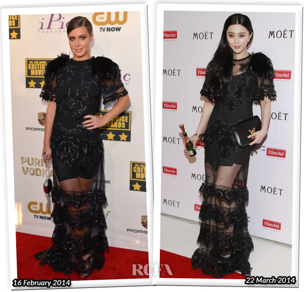 Who Wore Louis Vuitton Better Adele Exarchopoulos or Fan Bingbing