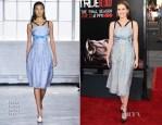 Zoey Deutch In Tanya Taylor - 'True Blood' Season 7 Premiere