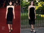 Alexa Chung In Erdem - The Serpentine Gallery Summer Party