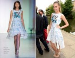 Amber Le Bon In Peter Pilotto - Peter Pilotto Dinner Hosted by M.A.C.