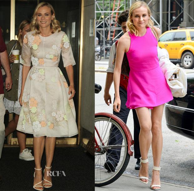 Diane Kruger 'The Bridge' New York Promo Tour