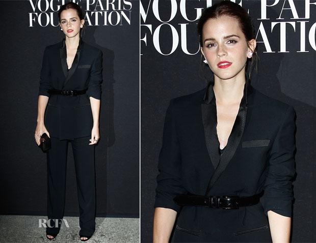 Emma Watson In Givenchy - Vogue Foundation Gala