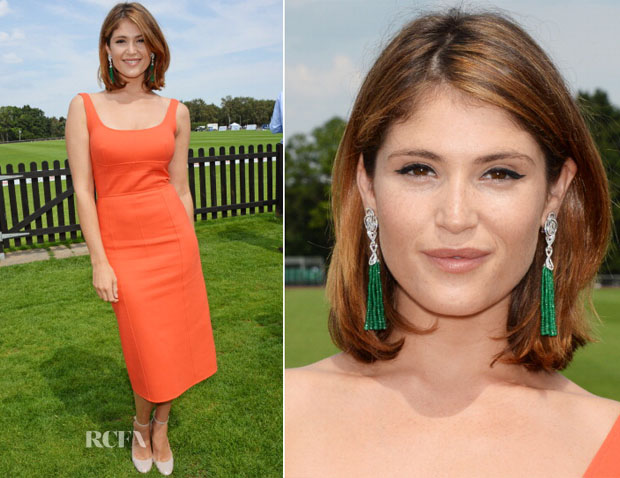 Gemma Arterton In Jasper Conran - Audi International Event