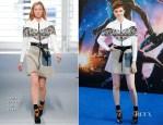 Karen Gillan In Louis Vuitton - 'Guardians Of The Galaxy' London Premiere