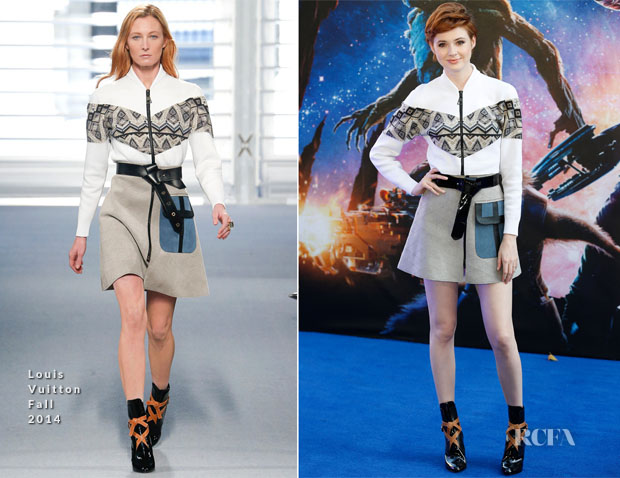 Karen Gillan In Louis Vuittion - 'Guardians Of The Galaxy' London Premiere