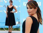 Lea Michele In Preen - Giffoni Film Festival Photocall