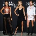 Models @ The Vogue Foundation Gala