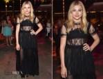Chloe Grace Moretz In Dolce & Gabbana - 'If I Stay' LA Premiere After-Party