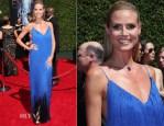 Heidi Klum In Sean Kelly - 2014 Creative Arts Emmy Awards