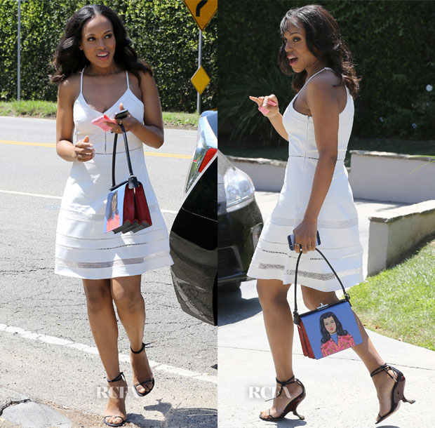 Kerry Washington In Parker - 'Day of Indulgence' Event