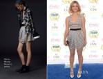 Sasha Pieterse In Vera Wang - 2014 Teen Choice Awards