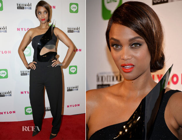 Tyra Banks In Alon Livné - America's Next Top Model Cycle 21 Premiere Party