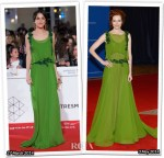 Who Wore Alberta Ferretti Better...Macarena Garcia or Darby Stanchfield?